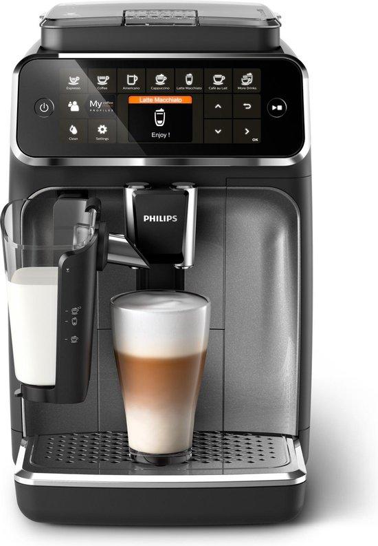 Philips LatteGo 4300 serie EP4346/70 - Espressomachine - Zwart/Grijs