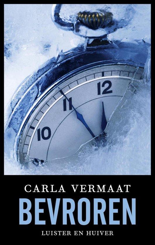 Boek cover Bevroren van Carla Vermaat (Onbekend)