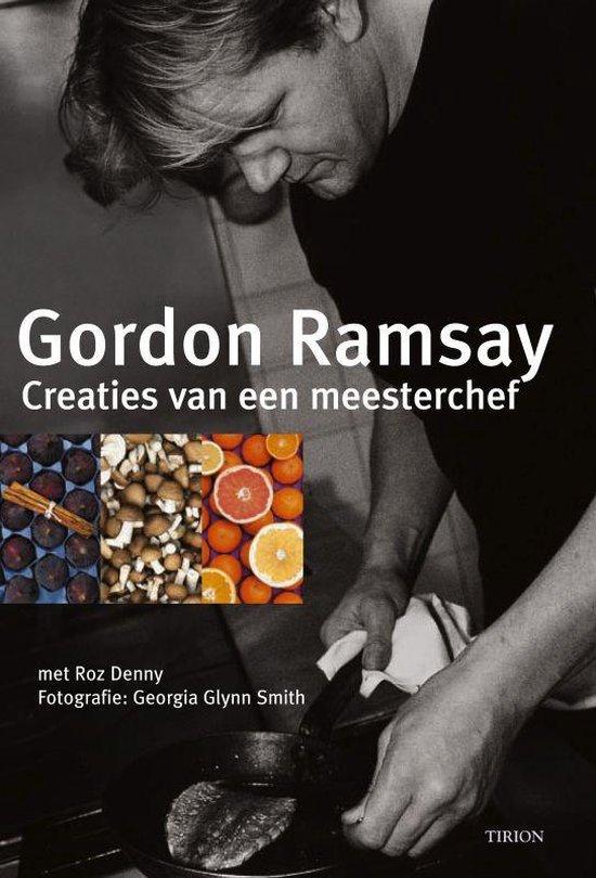 Cover van het boek 'Creaties van een meesterchef'