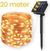Happy Goods® lichtsnoer op solar zonne-energie - 200 LED - 20m - Tuinverlichting