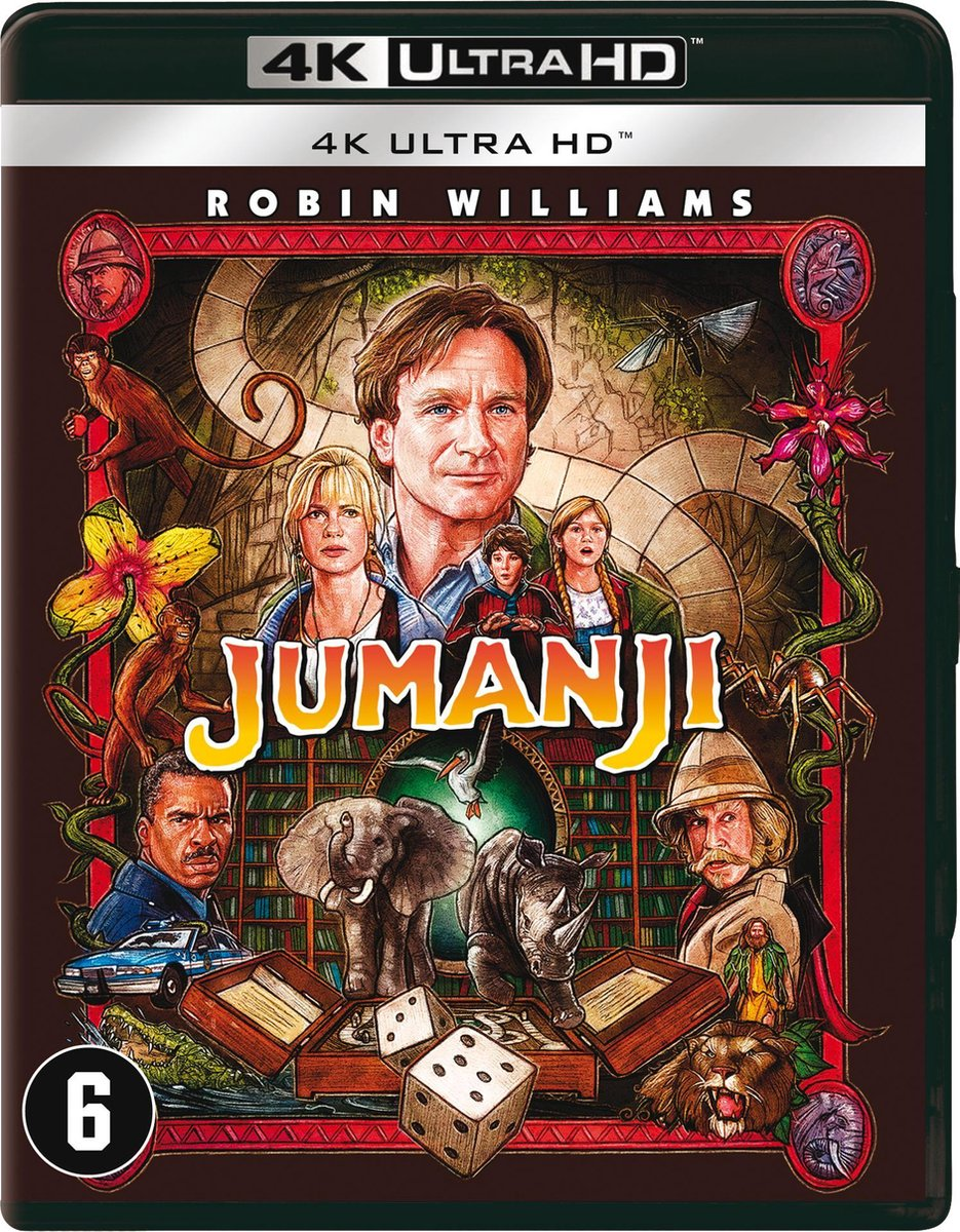 Jumanji (4K Ultra HD Blu-ray)-