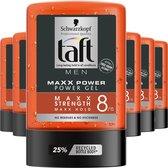 Taft MAXX Power Haargel 6x 300ml - Voordeelverpakking