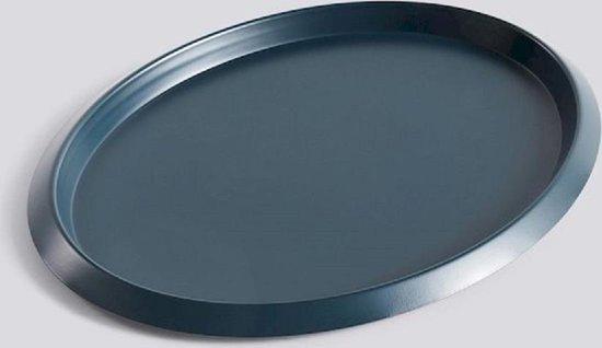 HAY Ellipse Tray Serveerschaal S Donkergroen L23.5 X B18.5 X H1.5