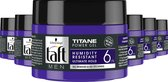 Taft Titane Power Gel pot 6x 250ml - Voordeelverpakking