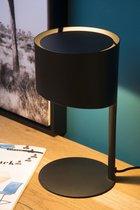 Lucide KNULLE - Tafellamp - Ø 15 cm - 1xE14 - Zwart