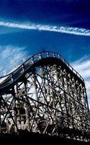Rollercoaster Luna Park Melborne Australia Drawing Writing Journal