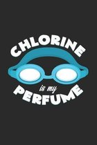 Chlorine is my perfume: 6x9 Swimmingl - grid - squared paper - notebook - notes