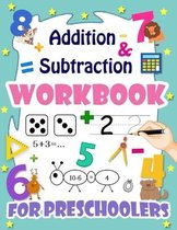 addition and subtraction workbook for preschoolers