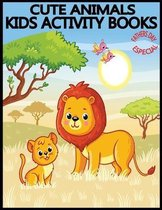 Cute Animals Kids Activity Books Fathers Day Especial