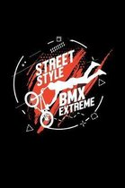 Street style BMX Extreme