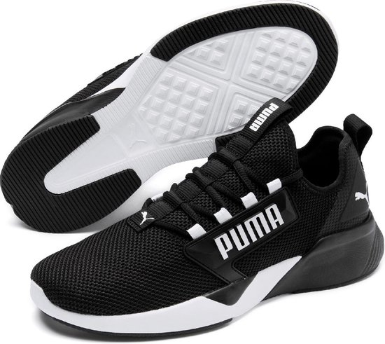 PUMA Retaliate Sportschoenen Heren - Puma Black-Puma White - Maat 44