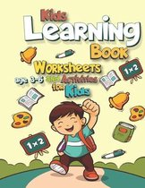 Kids Learning Book - Worksheets And Activities For Kids