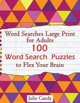 Word Searches Large Print for Adults