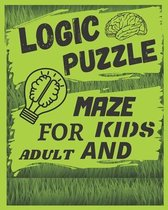 Logic Puzzle Maze For Kids and Adult