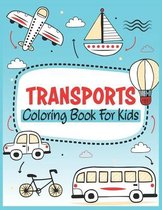 Transports Coloring Book For Kids