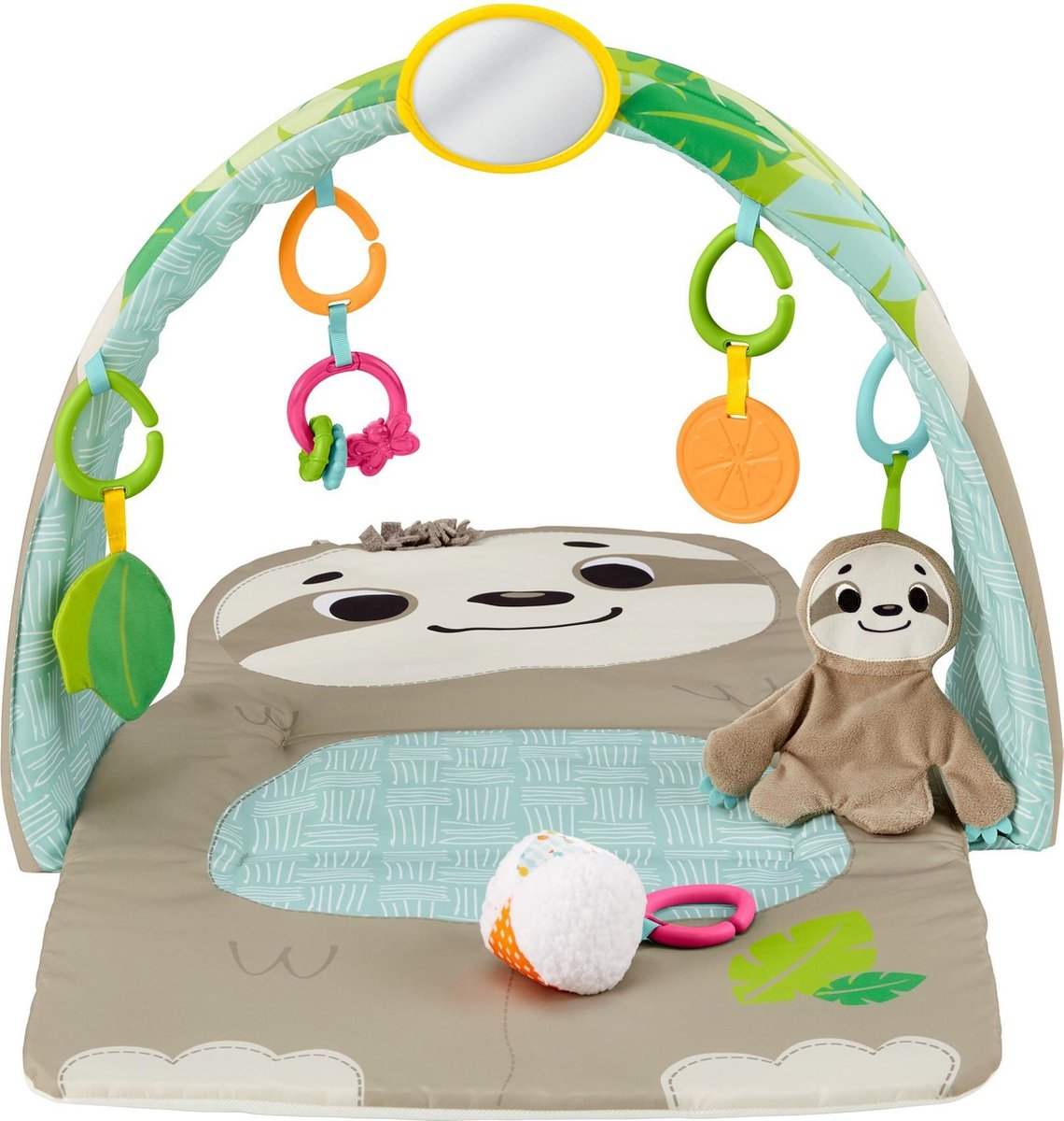 Fisher Price Ready to Hang Sensorisch Luiaard - Activity Center