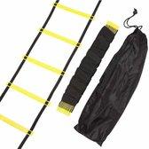 NordFalk trainingsladder 6 meter - fitness agility ladder / loopladder / speedladder - incl. draagtas