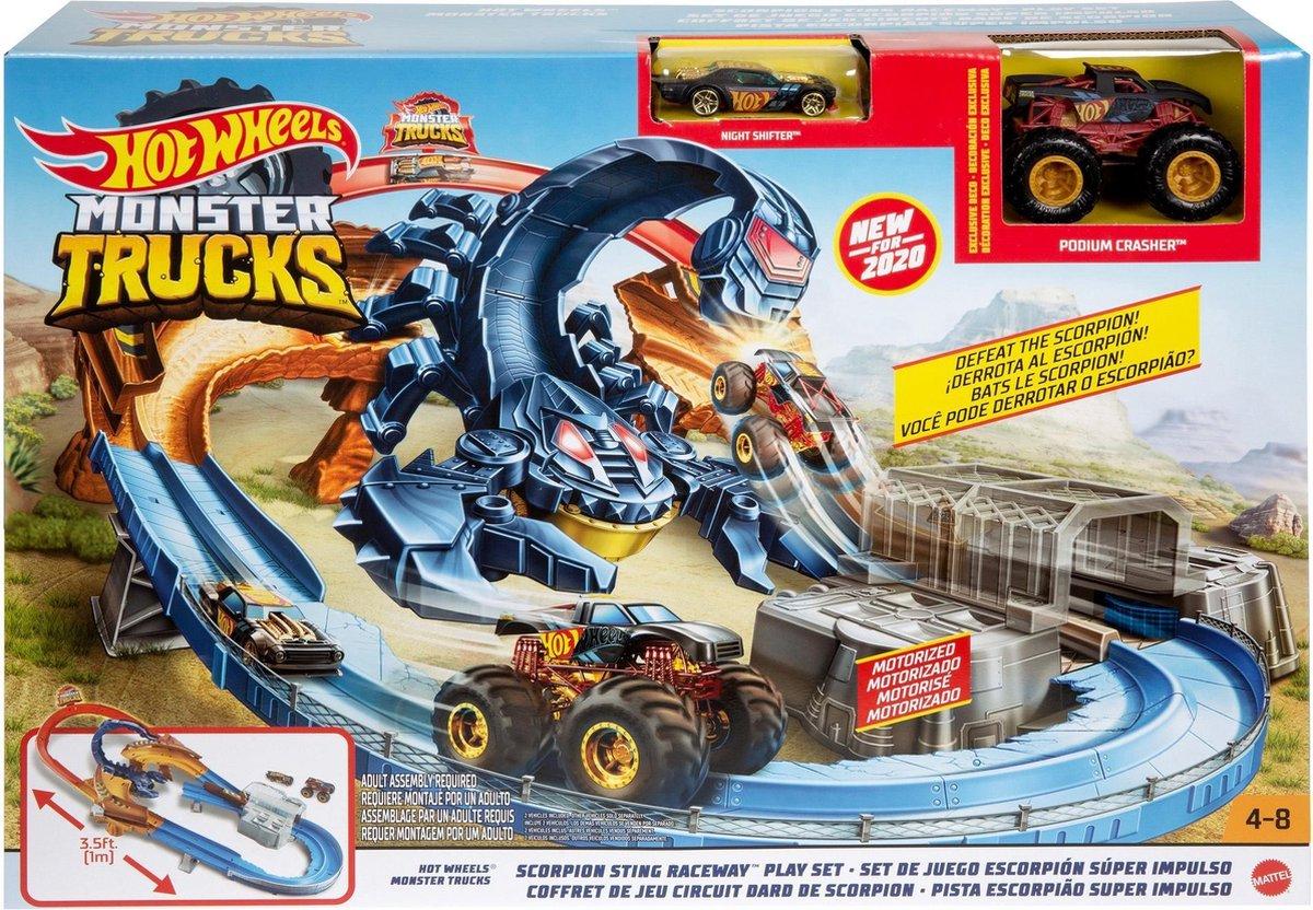 Hot Wheels Monster Trucks Scorpion - Speelset
