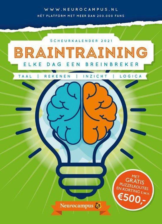 Neurocampus Braintraining Scheurkalender 2021