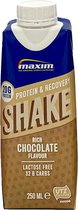 Maxim Protein & Recovery Drink Rich Chocolate 9 x 250ml