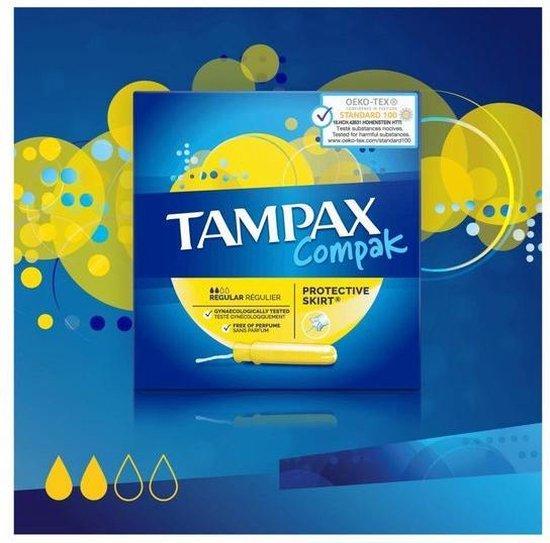 Tampax Compak Regular Tampons - 36 Stuks - Met Inbrenghuls - Tampax