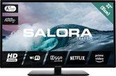 Salora 32HS304 - Televisie - LED - 32 inch - HD - WIFI - Smart - Netflix - Ziggo - Telenet - Zuinig