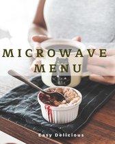 microwave menu