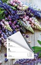 Week scheurkalender MGPcards 2021 - Scheurkalender - 1 week/1 pagina - Lupine - 21 x 34 cm