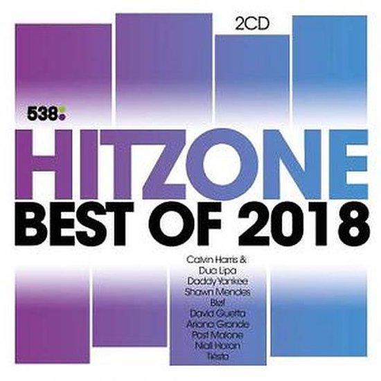 CD cover van 538 Hitzone - Best Of 2018 van Hitzone