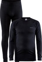 Craft Core Dry Baselayer Thermoset Heren - Zwart -