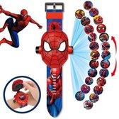 Spiderman Marvel Projector Horloge - Digitale Kinder Horloge - Speelgoed Watch - Sinterklaas cadeau