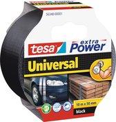 Tesa Extra Power Universal - Duct Tape - 10 m x 50 mm - Zwart