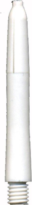 5 sets (15 stuks) Deflectagrip shafts Fluro Snow Nylon Short 35mm