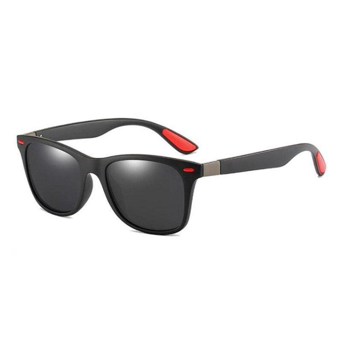 DF2020 - Zonnebril Heren - Gepolariseerd - Zwart - Sunglasses
