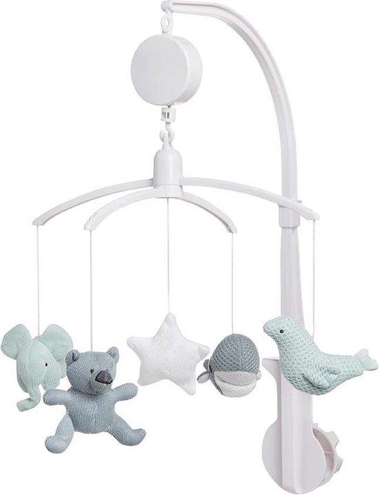 Product: Baby's Only Muziekmobiel - stonegreen/mint/wit, van het merk Baby's Only