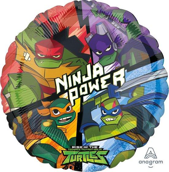 AMSCAN - Aluminium Rise of the Ninja Turtles ballon - Decoratie > Sfeerdecoratie