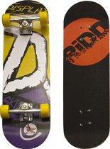 RiDD - skateboard - geel/paars - 70cm