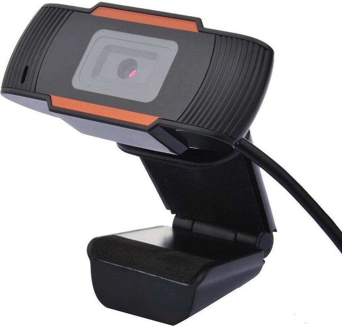 Webcam HD 720p - Op computer -