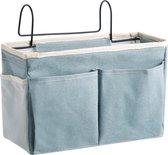 Opbergzak of Opbergbox voor aan boxzak of aan bed blauw - Boxopbergzak - Boxtas – Badkamer Organiser