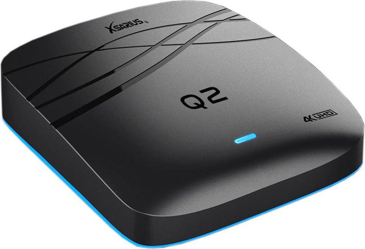 Xsarius Q2 V2 4K Android IPTV Box – Dual Band WiFi