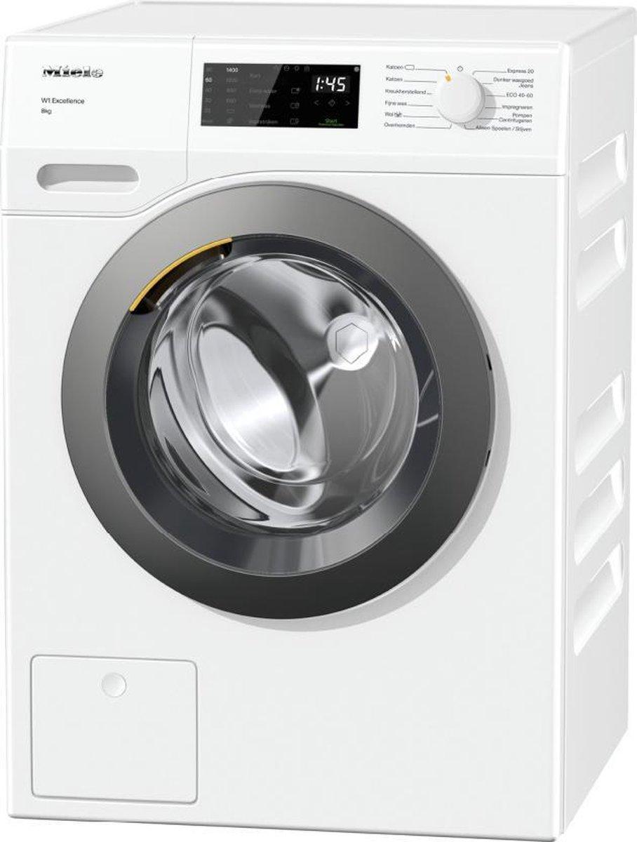 Miele WED135WPS wasmachine Vrijstaand Voorbelading Wit 8 kg 1400 RPM A+++-10% – NL/FR