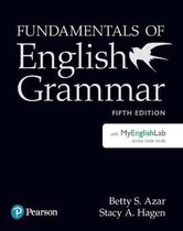 Fundamentals of English Grammar Student Book with MyLab English, 5e