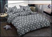 Antonio   Stars of Heaven   Dekbedovertrek 140x200 cm   1 persoons dekbed overtrek met kussensloop 70x80cm   Katoen/satijn