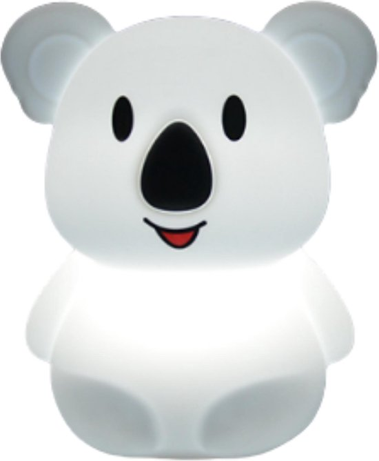 Kids Castle meerkleurig LED Nachtlampje Koala - Accu - Oplaadbaar