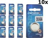 Renata CR2450N 3V Lithium knoopcel batterij - 10 Stuks