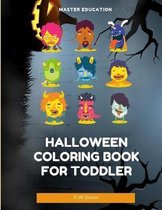 Halloween Coloring Book for Toddler