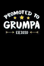 Promoted to Grumpa Est. 2020: New Grandpa Gifts 2020 for Soon to Be Grandfather