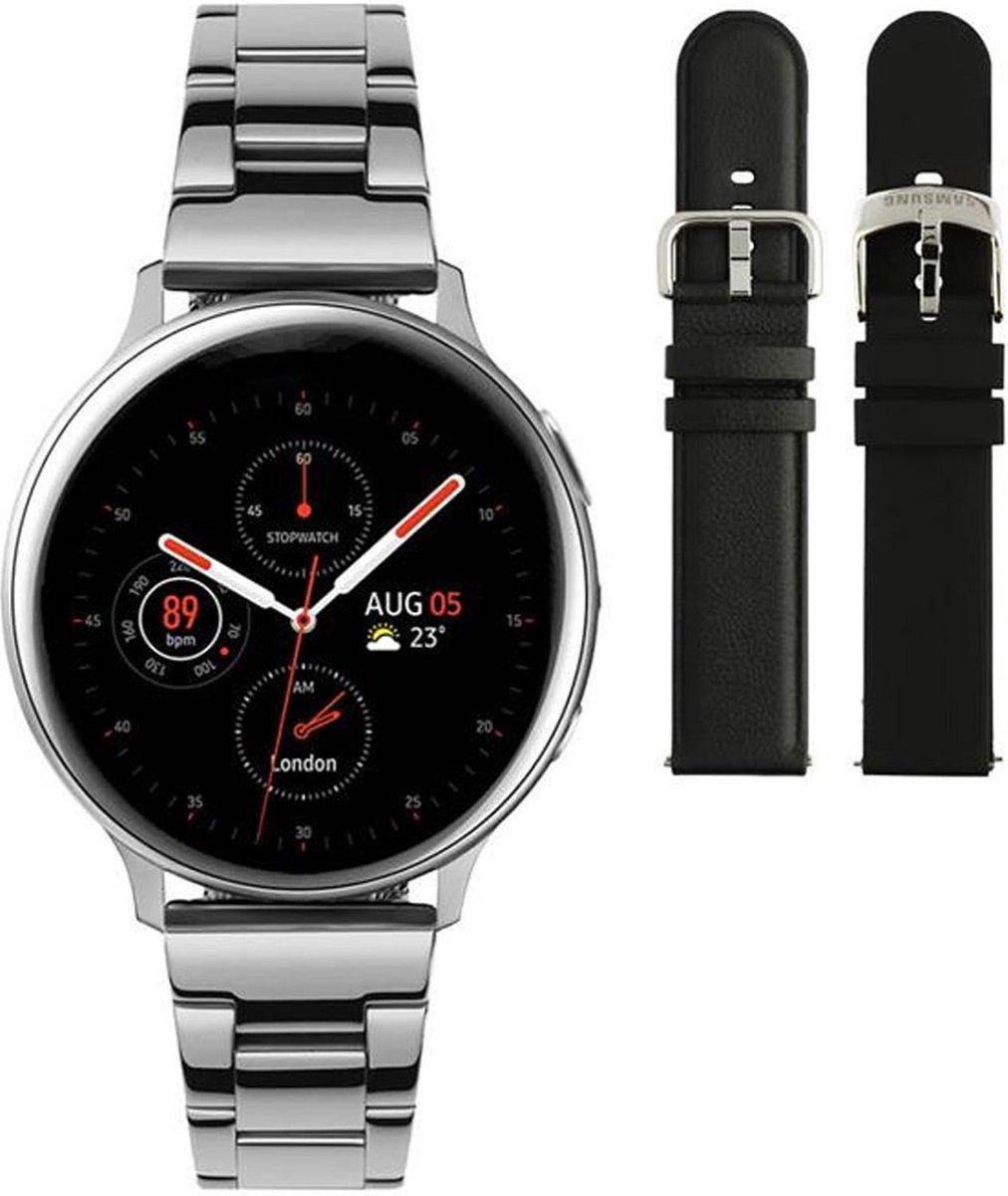 Samsung Active2 smartwatch SA.R830SS - Staal - Schakelband - Zilverkleurig - Ø 40 mm - Special edition kopen