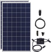 Plug & Play Zonnepaneel Set 680 Watt (2 zonnepanelen) met Stekker