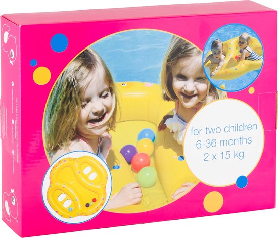 2enmeer Zwemveiligheid Tweelingzwemband - Twin swim float - Tweeling zwemband